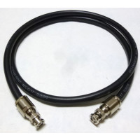 8421-BMBM-6 Pre-Made Cable Assembly, 6 foot / 72 Inches, 8421 w/BNC Male (AAA1004-72)