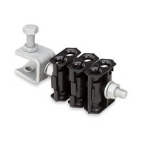 912MCLICK Miniature Click-on Hanger for 9–12 mm cable, 10pk, Andrew/ Commscope