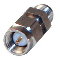 P2RSA-3705-1 In Series Precision adapter, SMA Male to SMA Female w/Hex Center, RFP2