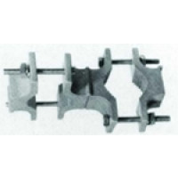 ASPA320 Pipe Mounting Kit for 1 - 2.8 in (25.4 - 73 mm) OD round members, Andrew