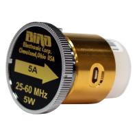 BIRD5A  Bird Wattmeter Element,  25-60 MHz, 5 Watt, Bird