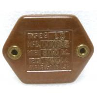 CM55-39/600 Mica Capacitor, 39pf 600vdc, Cornell Dubilier
