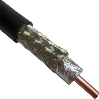C2FP  Braided Coax Cable, 0.400 dia, Solid Center Conductor, Andrew