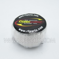 CW10 White Silicone 1 inch x 10 feet WeatherProofing Tape