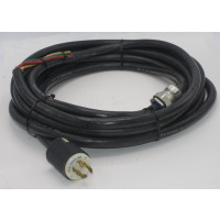 POWER CORD, Removed from  Henry 3000D Amplifier 8/4-220  31 FOOT 8/4 Wire with Hubbell 231A connectors