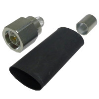 EZ400NMH-D Type-N Male Crimp  Connector, Times Microwave