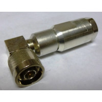 F4PNR Right Angle Type-N Male Connector, FSJ4-50B Andrew