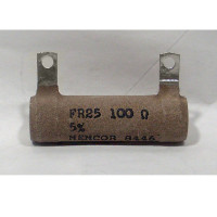 FR25-100  Wirewound Resistor, 100 ohms 25 watts, Memcor