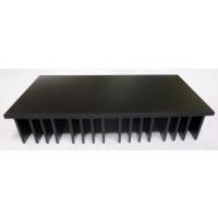 "HSBLK3 Heatsink, Black Anodized Aluminum, 3.5"" x 6.75"""