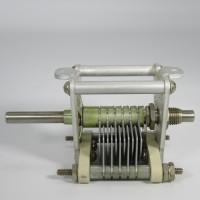 155-3  Air Variable Capacitor, 8-66 pf, 11 plates, 70F20, EF Johnson (NOS)