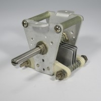 155-1  Air Variable Capacitor, 7-35 pf, 6 plates, 35F20, EF Johnson (NOS)