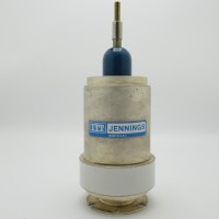 Jennings CVDD-300-10S 10-300pf Ceramic Vacuum Capacitor (Used Great Condition)