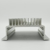 "HSALUMU7.5-2.75 Heat sink, 6.25"" x 7.5"" x 2.75"" Aluminum U-Shaped"
