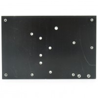 HS BLK-501  Heatsink, Black Anodized 5 x 3-5/16 x 1.75 Atlas 210
