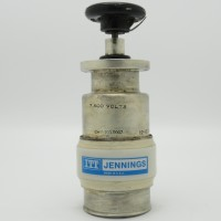 CHV1-200-0007 Jennings Ceramic 7.5Kv 12-200pf Gas Filled Capacitor (Used Great Condition)