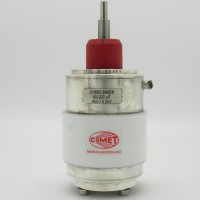 CV05C-200E/8 Comet 8KV 40-200pf Vacuum Variable Capacitor (Used Excellent Condition)