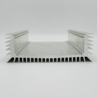 "HSU-9  Heatsink, Aluminum U-Shape 7-1/8"" Wide x 9"" Long x 2-1/4"" Wide"