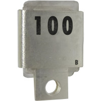 J101-100B  Metal Cased Mica Capacitor, 100pf