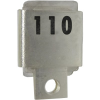 J101-110  Metal Cased Mica Capacitor, 110pf