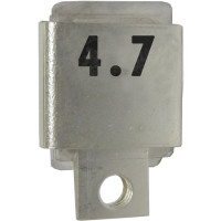 Metal Cased Mica Capacitor, 4.7pf, 350v, Unelco (J101-4.7A)