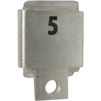 Metal Cased Mica Capacitor, 5pf, 350v, FW (J101-5A)