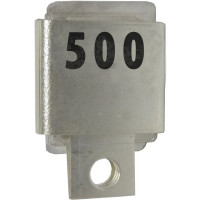 Metal Cased Mica Capacitor, 500pf, 350v, MFR: Semco (J101-500A)