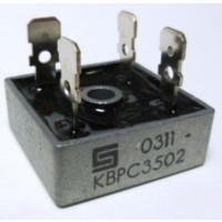 KBPC35-02 Rectifier, bridge 35amp 200v