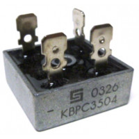 KBPC35-04 Rectifier, bridge 35amp 400v