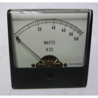 1227-W1000 Simpson Meter Movement 0-1000watt 100ua (NOS)