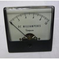 1227-MA1 Simpson Meter Movement 0-1ma DC (NOS)