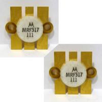 MRF317 NPN Silicon Power Transistor, 100W, 30-200MHz, 28V, Matched Pair, Motorola