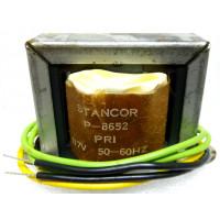 P-8652 Low voltage transformer, 117VAC, 10v C.T., 1 amp, Stancor