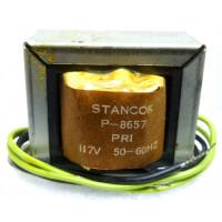 P-8657 Low voltage transformer, 117VAC, 12v, 2 amp, Stancor