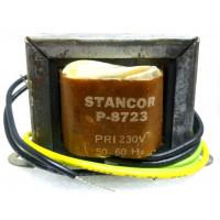 P-8723 Low voltage transformer, 230VAC, 24v C.T., 0.7 amp, Stancor