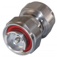 P2RFD1650-SS In Series Adapter, 7/16     DIN Male to Male, LOW PIM, RFI