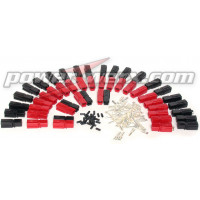 PP45-10  45 Amp Unassembled Red/Black Anderson Powerpole (10 Sets)
