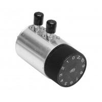 RA50BNC Rotary Attenuator, 2 watt, 10db, 1 db steps DC-2 GHZ Trilithic (Clean Used)