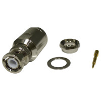 RFB1101-1EN BNC Male Clamp Connector, Cable Group E, RFI