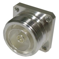 RFD-1640-2 RF Industries 7/16 DIN Female 4 Hole Flange Connector
