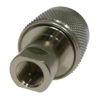 RFE6107 FME Between Series Adapter, FME Male to Type-N Male, RF Industries