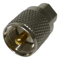 RFE6112 Between Series Adapter, FME Male to UHF Male(PL259), RF Industries