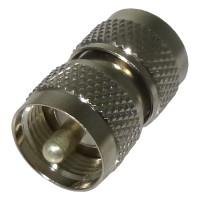 RFU538  IN Series Adapter, UHF Male to Male (PL259) Barrel, RF Industries