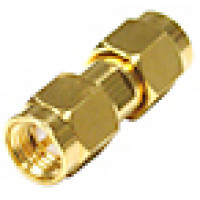 RSA3403-1 SMA IN Series Adapter,Male to Male, Barrel, Gold, RFI
