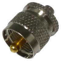 RSA3474  Between Series Adapter, SMA Female to UHF Male, RFI