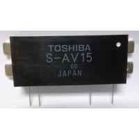 SAV15  Power Module, 30w, 220-225MHz, Toshiba (Cross for M57774)