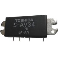 SAV34  Power Module, 39 dBm, 150-165MHz, Toshiba (Digital)