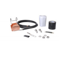 """SGL7-15B4  SureGround® Grounding Kit for 1-5/8"""" corrugated coaxial cable"""