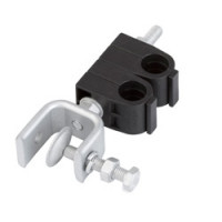 SHK-12-2-P  Single Hanger Kit for 1/2 in coaxial cable, double stack; Andrew