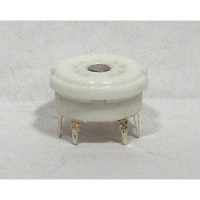 SK9MINIPC Socket, 9 pin mini tube, Pc board