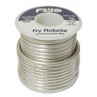 Fry Flobrite Solder 1lb .125 Diameter Lead-Free 4% Silver (NOS)